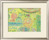 You Are a Sunny Place, It Is Warm Framed Giclee Print by Miyuki Hasekura