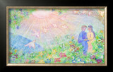 Thanks to Meet You on the Earth Framed Giclee Print by Miyuki Hasekura