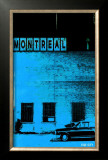 Montreal Vice City in Blue Prints by Pascal Normand