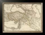 Asie-Mineure, Armenie, Syrie, Mesopotamie, Caucase, c.1822 Framed Giclee Print by Adrien Hubert Brue