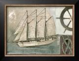 Sailing I Posters by Norman Wyatt Jr.