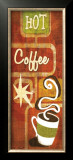 Retro Coffee III Poster by Stacy Gamel