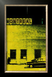 Montreal Vice City in Yellow Print by Pascal Normand