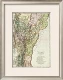 Vermont, c.1797 Framed Giclee Print by Daniel Friedrich Sotzmann