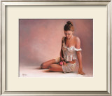 ALICIA 1 Limited Edition Framed Print by EVE CAVE