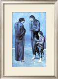 Les Pauvres au Bord de la Mer, c.1903 ポスター : パブロ・ピカソ