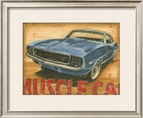 Vintage Muscle II Poster by Ethan Harper