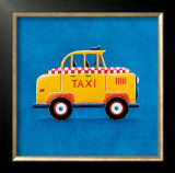 Yellow Taxi Prints by Simon Hart