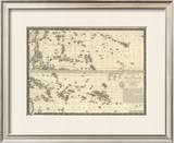 Polynesia, c.1827 Framed Giclee Print by Adrien Hubert Brue