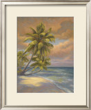 Tropical Beach Posters by Lucie Bilodeau