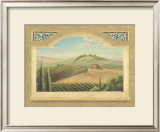 Vineyard Window III Print by Joelle McIntyre