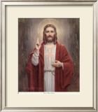 Sacred Heart of Jesus Prints by Charles Bosseron Chambers