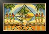 Hawaii Brochure, 1943 Prints