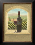 Vineyard Vista II Poster by Joelle McIntyre
