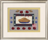 Americanna Apple Pie Prints by Wendy Russell