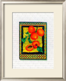 Apricots Arrangement Poster by Tricia Miller