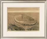 Bird's Eye View of the Black Hills, c.1879 Framed Giclee Print by Henry Newton