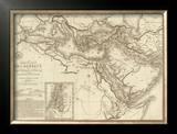 Geographie des Hebreux, c.1821 Framed Giclee Print by Adrien Hubert Brue