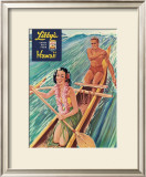 Libby's Outrigger Girl Print by  Laffety