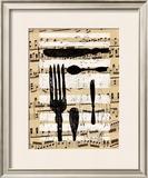 Messer, Gabel, Loffel I Art by Sabine Glandorf