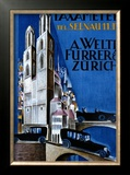 Taxameter A Welti-Furrer AG, Zurich Framed Giclee Print by  Morach