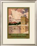 Chemin de Fer du Midi, Font-Romeu, c.1920's Prints by George Roux
