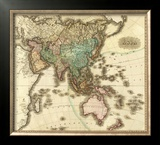 Asia, c.1823 Framed Giclee Print by Henry S. Tanner