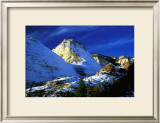Mountain Snow and Shadows, Zion National Park Posters by Charles Glover