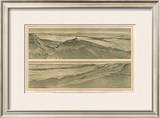 Grand Canyon: Views of the Marble Canon Platform, c.1882 Framed Giclee Print by William Henry Holmes