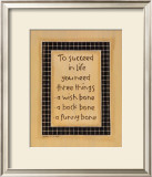 To Three Things Prints by Karen Tribett