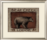 Bear Creek Print by Todd Williams