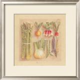 Vegetables I, Asparagus Prints by Laurence David