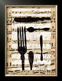 Messer, Gabel, Loffel I Prints by Sabine Glandorf