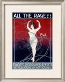 Eva, All the Rage Framed Giclee Print by Mario Borgoni