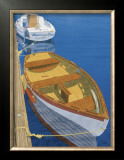 Two Dinghy&#39;s Print by Greg Snead