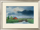Battlesbridge, Essex Print by Peter French