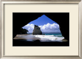 Cathedral Cove, New Zealand Prints by Charles Glover