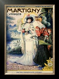 Martigny Framed Giclee Print by Lucien Metivet