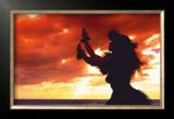 Hula Sunset Posters by Randy Jay Braun