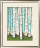 Summer Birches Poster by Lisa Congdon