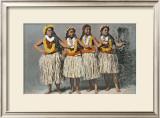 Hula Dancers Print