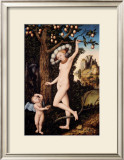 Cupid Complaining to Venus Posters by Lucas Cranach the Elder