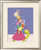Numbers on a Turtle Posters por Isabelle Jacque