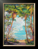 Path to Paradise I Posters by Rick Delanty