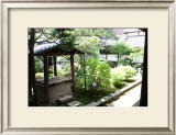 A Well in Back of the Temple, Japanese Garden Posters by Ryuji Adachi