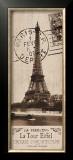 La Tour Eiffel Poster by Kelly Donovan