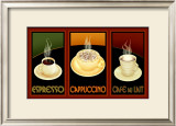 Gourmet Coffee Framed Giclee Print