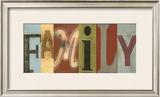 Family Panel Prints