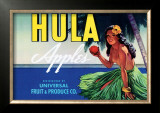 Hula Apples Posters