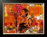 Jazz III Art by Thierry Vieux